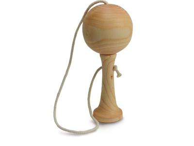 Bilboquet en bois de fabrication artisanale, made in Dordogne, France