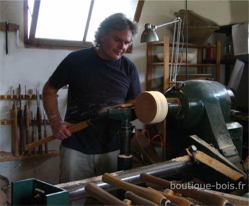 Jean Hart tourneur sur bois